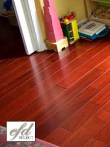 Engineered hardwood flooring, Brazilian cherry