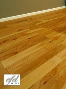 Handscraped Hickory Flooring
